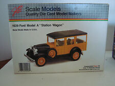 JLE SCALE MODELS KIT 1929 FORD