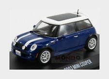 Mini Cooper 2003 The Italian Job Blue White GREENLIGHT 1:43 GREEN86546