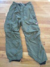 Vintage 55 DSL Unisex Military Green SZ Small Snowboard Pants