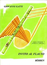 GATTI Giovanni INVITO AL FLAUTO Metodo per Flauto traverso
