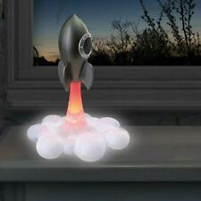 Rocket Lamp Bedside Desk Lighting LED Colour Changing Battery USB Powered