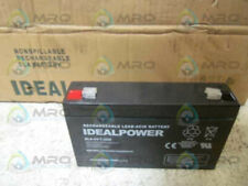 IDEALPOWER ELA-6V-7.2AH RECHARGEABLE BATTERY * NEW IN BOX *