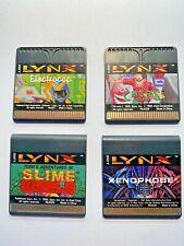 Lotto 4X ATARI LYNX GAME ORIGINAL CARTRIDGE
