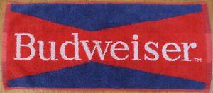 Old Budweiser bar towel