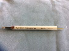 New listing Vintage Taylor Glass Dairy Thermometer