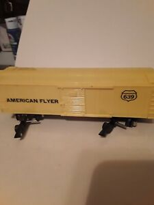 """AF """"S"""" GA.   3 Yellow Cars W/Link. All different shades"""