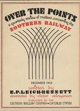 OVER THE POINTS - QUARTERLY REVIEW OF SOUTHERN RAILWAY - DECEMBER 1935
