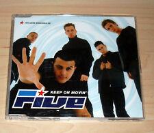 CD Maxi-Single-Five-Keep on movin'