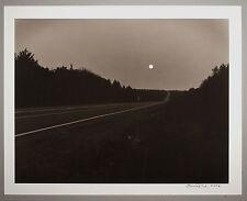 BONNIERE,16X20,SILVER GELATIN PHOTOGRAPH, S/N, FULL MOON,NOVA SCOTIA,CANADA