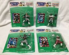 STARTING LINEUP FIGURES & CARD 1997 FOOTBALL JOHNSTON ANDERSON CENTERS SMITH NFL