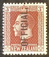 New Zealand. Optd OFFICIAL Definitives. Mounted Unused. #AF91