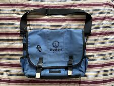 Timbuk2 Classic Medium Messenger/Crossbody Bag Navy Blue Padded - Used