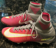 Women's Nike Mercurial Superfly V SGPro 844229-611 sz 11 Pink Cleats FAST SHIP