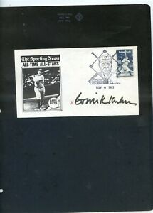 rare HOF BOWIE KUHN HAND SIGNED BABE RUTH  fdc GREAT PRICE