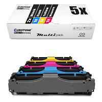 5x Eurotone ECO Toner XXL für HP Color LaserJet Pro MFP M-477-fdw MFP M-477-fdn