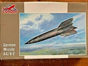 CONDOR 1:72 WW2 GERMAN MISSILE V2 ROCKET