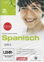 CD-ROM + Spanisch 2. Lernjahr + Vokabeln + Grammatik + Mini Pocket Teacher +Win7