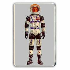 Mattel Major Matt Mason Astronauta Figura Jumbo Refrigerador/spint Imán