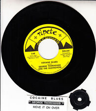 "GEORGE THOROGOOD  Cocaine Blues & Move It On Over 7"" 45 rpm record NEW RARE!"