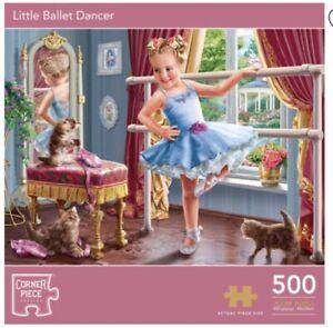 Little Ballet Dancer 500 Piece Jigsaw Puzzle, Toys & Games, Brand New