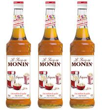 Monin Sirup Popcorn, 0,7L, 3er Pack