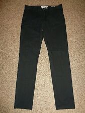 H&M L.O.G.G. Men's Skinny Fit Pants, Sz 34x31, Black 12461