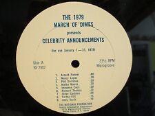 "12"" PSA 1979 march Of Dimes Janet Leigh/Shaun Cassidy/Eartha Kitt"
