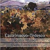 Mario Castelnuovo-Tedesco: Piano Music (2015)