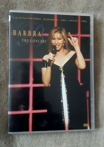 BARBRA STREISAND THE CONCERT live at the MGM Grand. Barbara. UK R2 DVD EXCEL CON