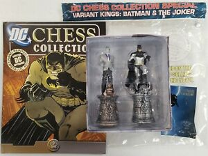 Eaglemoss DC Super Hero Chess Collection Batman Joker Variant Lead Figure