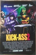 KICK-ASS 2 MOVIE POSTER 2 Sided ORIGINAL RARE VF 27x40 CHLOE GRACE MORETZ