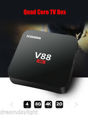 Scishion V88 Smart TV Box Android Quad Core 4K H.265 1G+8G set-top box UE