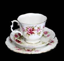 Vintage Royal Albert Romance trio with Gainsborough shape teacup