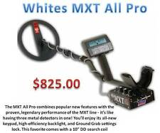 Whites MXT All Pro Metal Detector, Deep Coin, Relic & Beach Detector, Ships FREE
