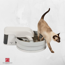 Premier Pet Auto Clean Litter Box System  Works with Clumping Cat Litter New