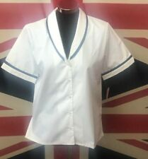 New Ladies White Healthcare Tunic Pharmacist Medical Hospital Care Home
