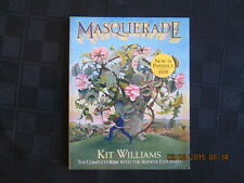 MASQUERADE Kit Williams COMPLETE BOOK WITH ANSWER EXPLAINED pb RARE 1983 1st