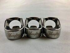 (3) Yuengling Beer Bottle Opener Rings x3 Stainless Steel Engraved Bar Tool