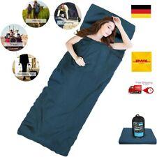 Backpackers Journey Hüttenschlafsack Reiseschlafsack 100*210 400g Fleece-Inlett