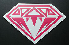 "Sticker Aufkleber Decal Matt-Optik ""Pink Diamond"" Laptop, Stickerbomb"
