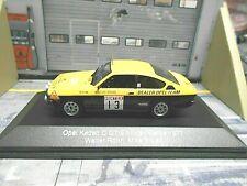 1:43 Ixo Opel Kadett GT//E talla 1 #3 Hunsrück rally warmbold//Pitz 1978