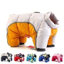 Winter Pet Dog Clothes Super Warm Jacket Thicker Cotton Coat Waterproof Dog