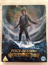 Percy Jackson and the Lightning Thief Steelbook - Limited Edition - Region B & C