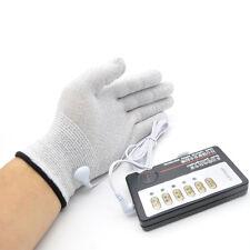 Electro Shock Gloves E-Stim Stimulation Pair Couples Sex Toys Games A255