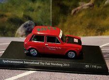 Best Model 1/43 Autobianchi A112 Abarth OVP Spielwarenmesse Nürnberg 2013