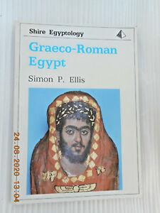 SHIRE BOOK: SHIRE EGYPTOLOGY  GRAECO-ROMAN EGYPT  (1992)  NEW