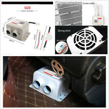 12V Car Heater Car Glass Defroster Window Heater For Car Air Outlet 2 Warm Dryer
