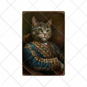 Funny Black Cat Metal Tin Sign Vintage Wall Decor For Home Bar Souvenirs Gifts