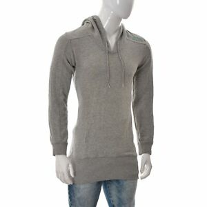 G-Star Raw Men's Hoodie Sweater Top Long Sleeve Pullover Size Small Grey Genuine