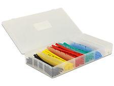 Delock * Schrumpfschlauch Box * 100-teilig * farbig * Ø 1,5 mm bis 13,0 mm
